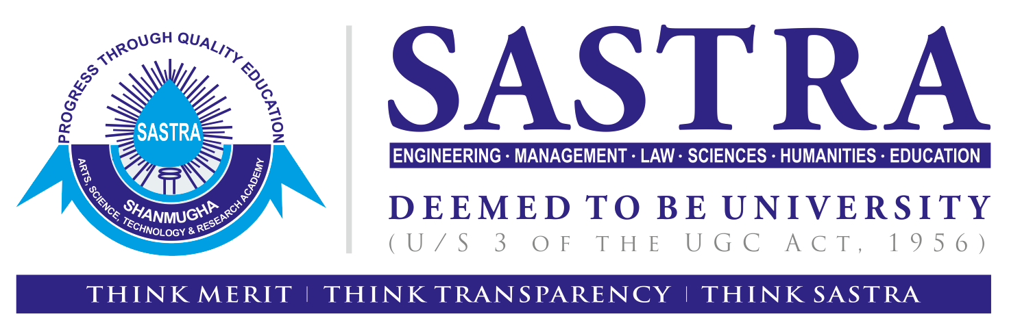 School of LAW - SASTRA University